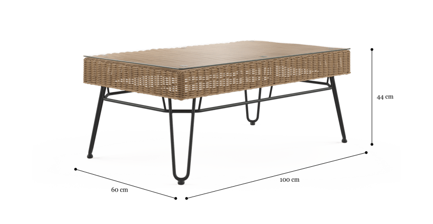 Sorelle Outdoor Coffee Table