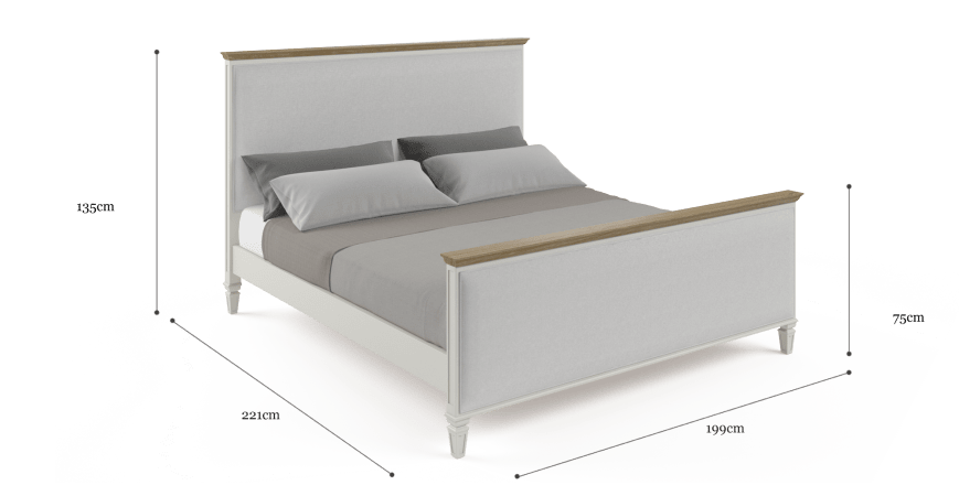 Enzo King Size Bed Frame
