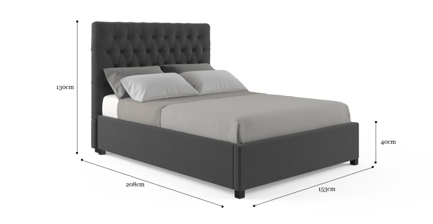 Emily Double Standard Bed Frame