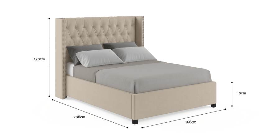 Stella Double Gaslift Bed Frame