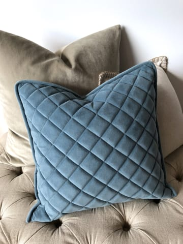 Parla small cushion 45 x 45cm airforce 01
