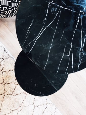 Cushla side table black marble 03