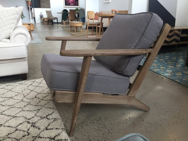 Lucca armchair stone grey 02