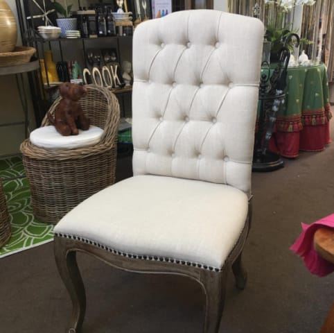 Marie dining chair classic cream