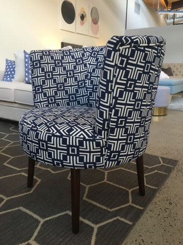 Nora chair windsor black print 04