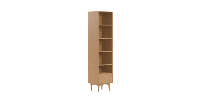 Mia Narrow Bookcase