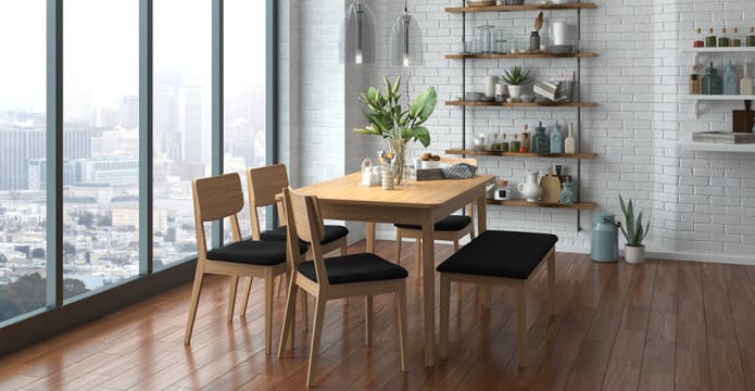 Mokuzai [木] Compact Dining Table 120cm