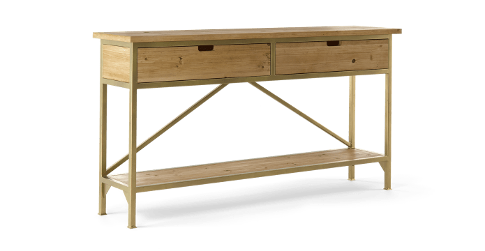Augustine Console Table with Drawers