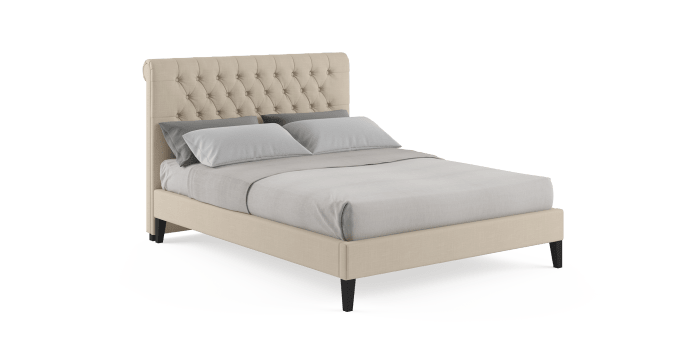 Heidi Queen Slim Bedframe