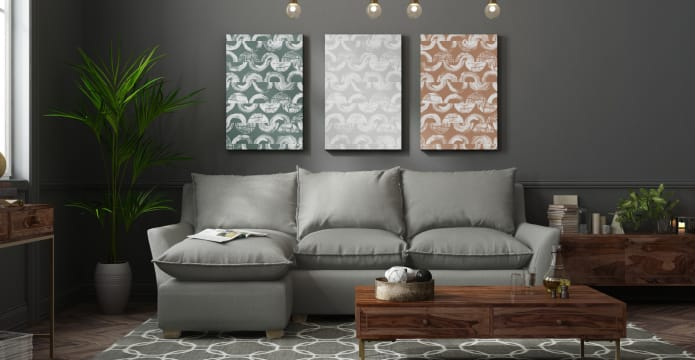 The Vector Triptych Set of 3