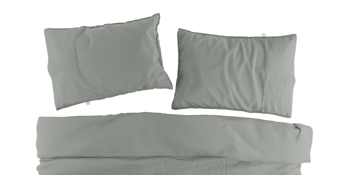 Pima Cotton Quarry Duvet Cover Set