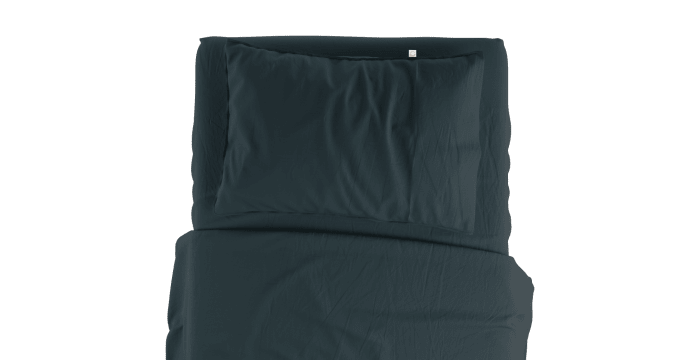 Supima Cotton Indian Teal Standard Sheet Set
