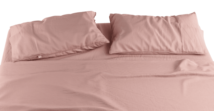 Pima Cotton Mellow Rose Standard Sheet Set