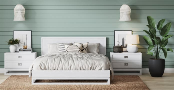 Monterey Hamptons Style King Size Bed Frame