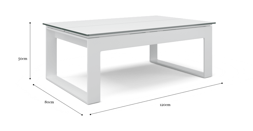 Airlie Outdoor Lift Top Coffee Table