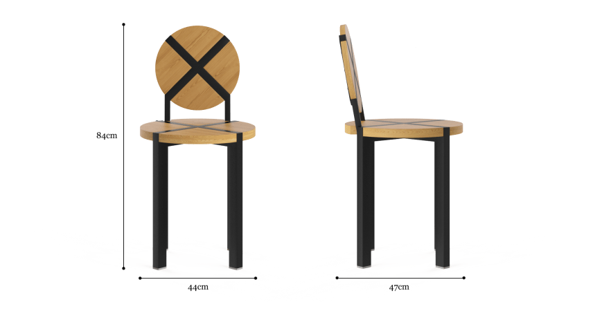 Tropea Outdoor 2x Dining Chair