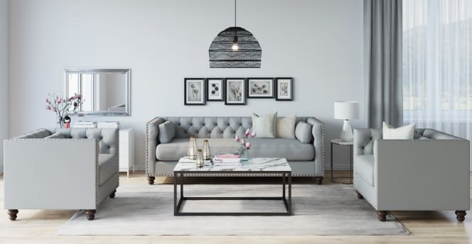 Traditional sofa - Madelina Chesterfield lounge
