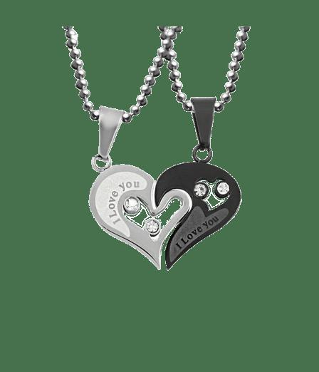 Half a Heart Necklace