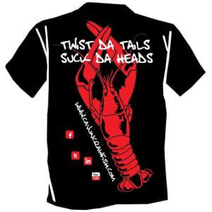 Twist 'da Tails T-shirt - small