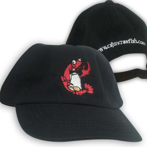 cajuncrawfish.com embroidered hats