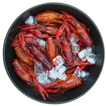 12 lbs of Whole Cooked Crawfish