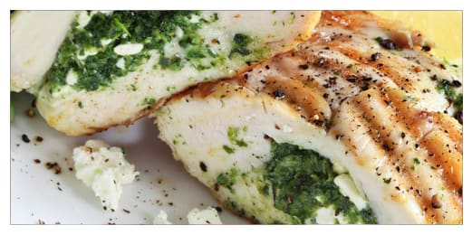Stuffed Chicken Header