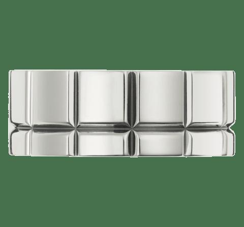 Silvity cha/îne en acier inoxydable pour homme argent/é longueur 40 20 0,4 cm 60 879102