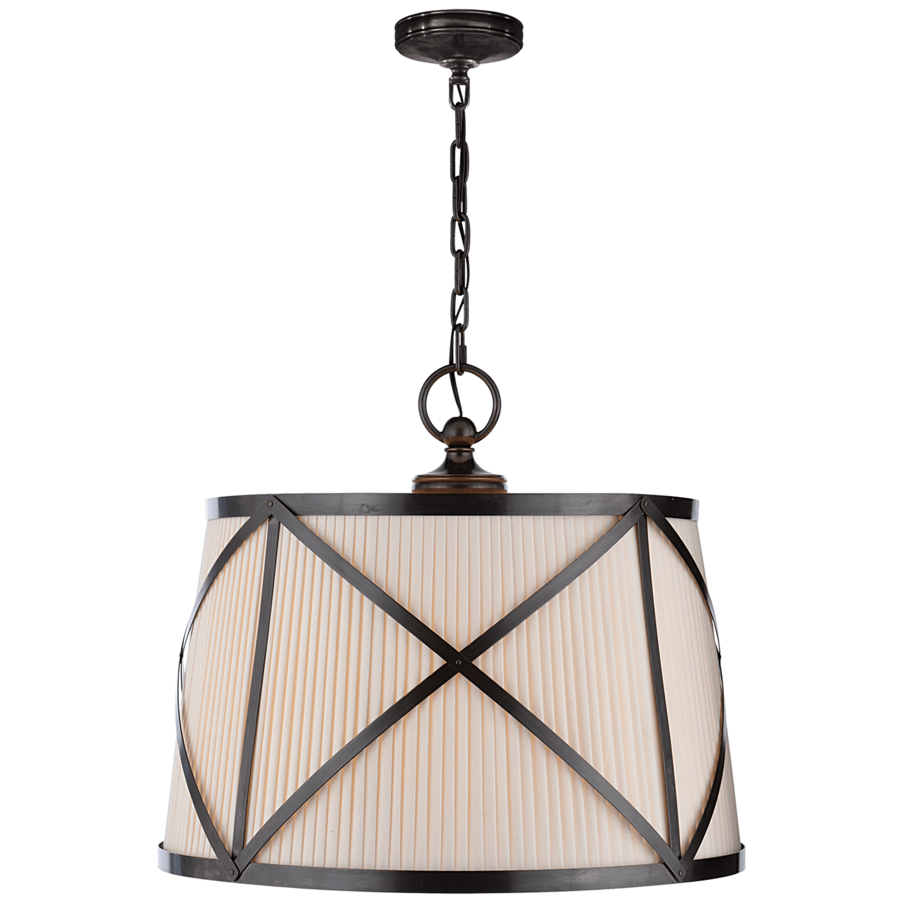 Grosvenor Large Single Hanging Shade Circa Lighting