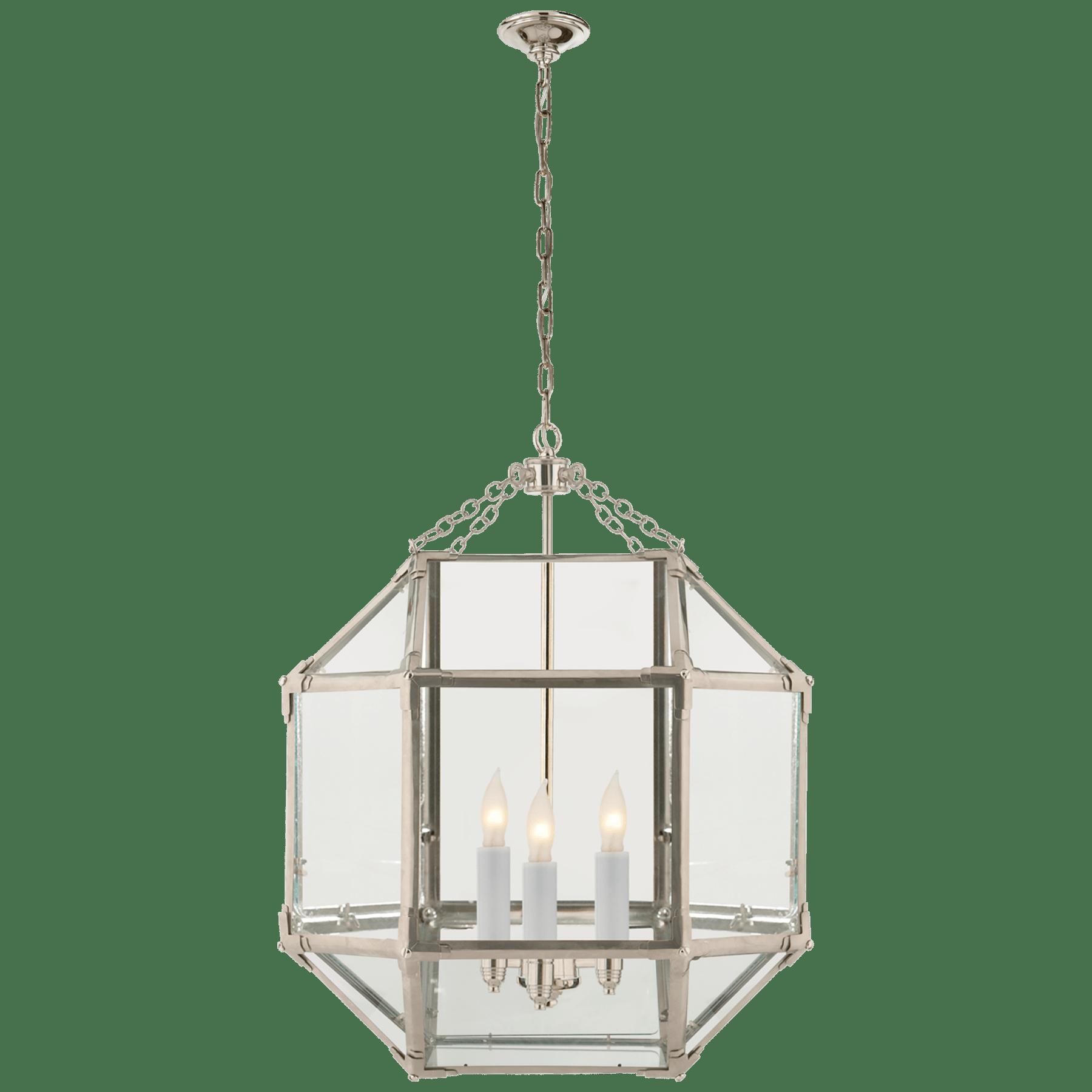 Morris Medium Lantern Circa Lighting