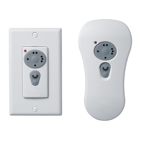 Convertible Handheld/Wall Remote Control Transmitter White