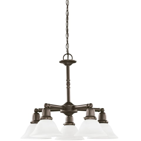 Sussex Five Light Chandelier Heirloom Bronze