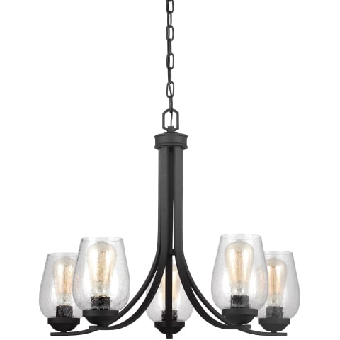 Morill Five Light Chandelier Blacksmith