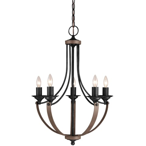 Corbeille Five Light Chandelier Stardust
