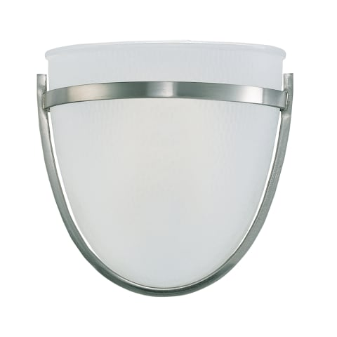 Eternity One Light Wall / Bath Sconce Brushed Nickel