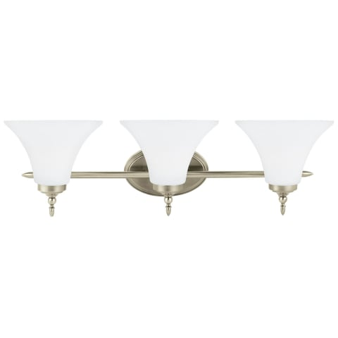 Montreal Three Light Wall / Bath Antique Brushed Nickel