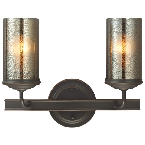 Sfera Two Light Wall / Bath Autumn Bronze