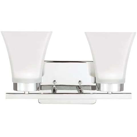 Bayfield Two Light Wall / Bath Chrome Bulbs Inc