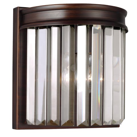 Carondelet One Light Wall / Bath Sconce Burnt Sienna