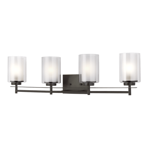 Elmwood Park Four Light Bath Heirloom Bronze