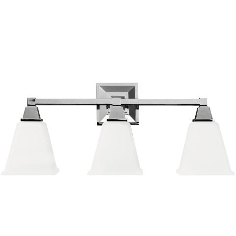 Denhelm Three Light Wall / Bath Chrome