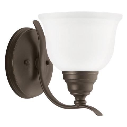 Wheaton One Light Wall / Bath Sconce Heirloom Bronze Bulbs Inc