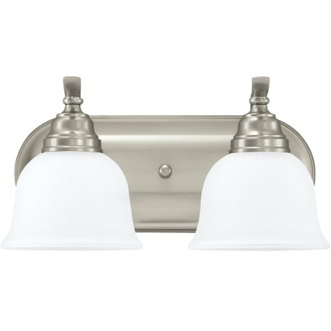 Wheaton Two Light Wall / Bath Brushed Nickel