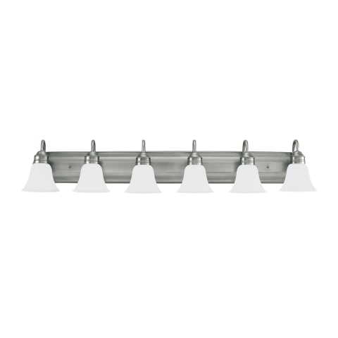 Gladstone Six Light Wall / Bath Antique Brushed Nickel
