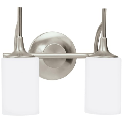 Stirling Two Light Wall / Bath Brushed Nickel