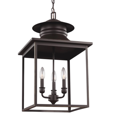 Huntsville Three Light Hall / Foyer Heirloom Bronze