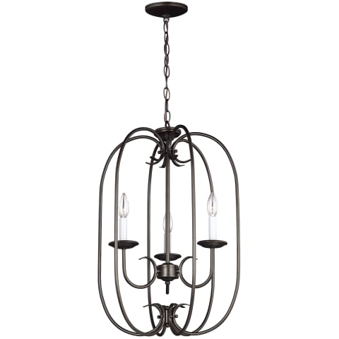 Holman Three Light Hall / Foyer Heirloom Bronze