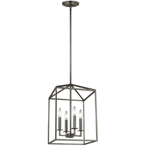 Perryton Small Four Light Hall / Foyer Heirloom Bronze