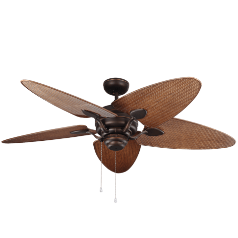 "56"" Peninsula Indoor/Outdoor Fan -  Roman Bronze"