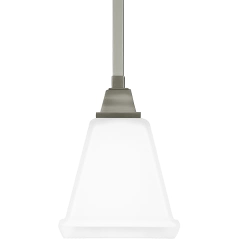 Denhelm One Light Mini-Pendant Brushed Nickel