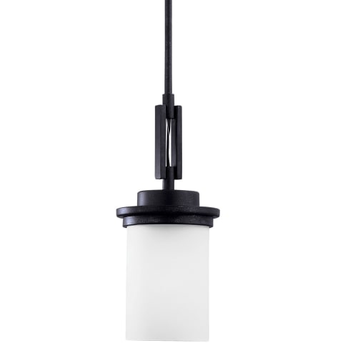 Winnetka One Light Mini-Pendant Blacksmith